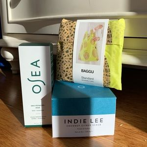 Skincare pack - Indie Lee & Osea (w/reusable bag)
